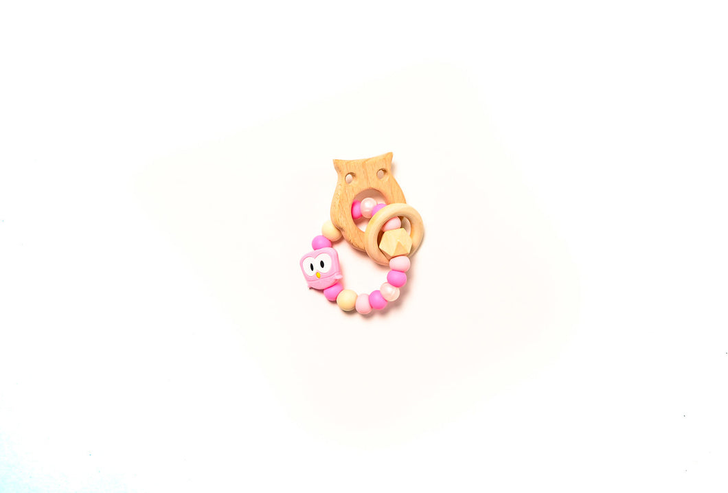 Owl Teether Rattle