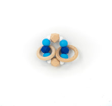 Load image into Gallery viewer, Double Ring Teether Rattle