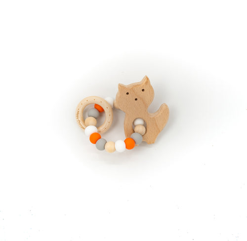 Fox Teether Rattle