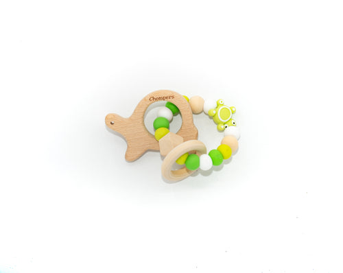 Turtle Teether Rattle