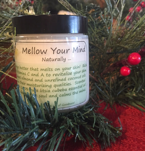 Mellow Your Mind Naturally ... Mango Butter Creme