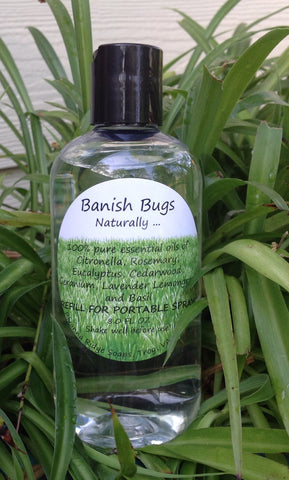 Banish Bugs 8oz Refill