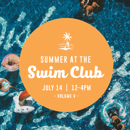 Upcoming Event: Summer at the Swim Club