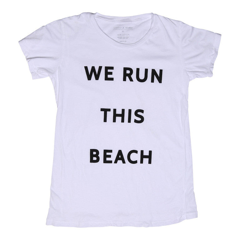 Oopsy Daze X BikiniBird We Run This Beach Tee