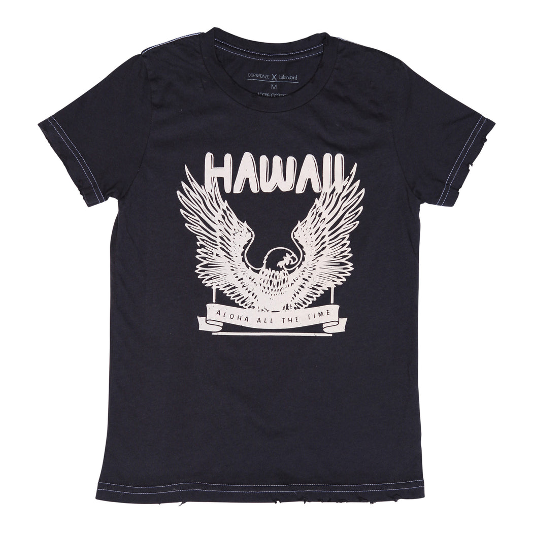 Oopsy Daze X BikiniBird Hawaii Rock Tee