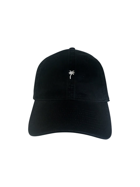 BikiniBird Palm Tree Baseball Hat in Black