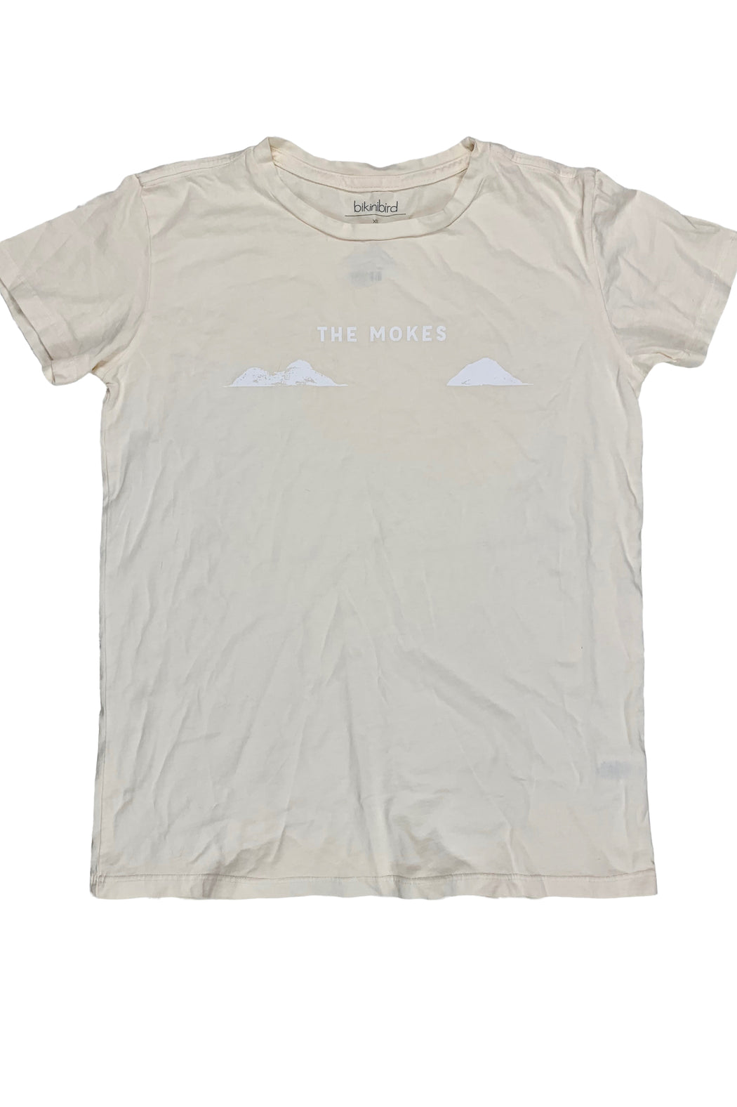 BikiniBird Mokes Tee in Cream