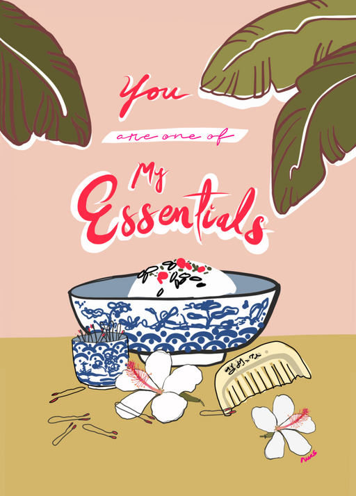 "Margaret Rice Studio ""Essentials"" Card"