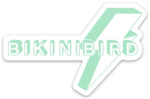 BikiniBird Bolt Sticker in Mint