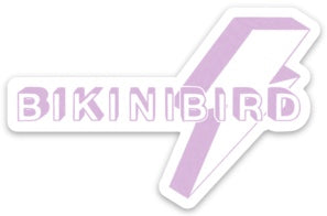 BikiniBird Bolt Sticker in Lavender