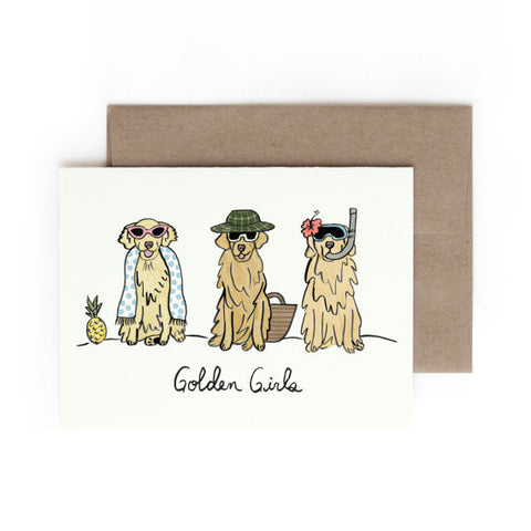 Hontas Higa Golden Girls Greeting Card