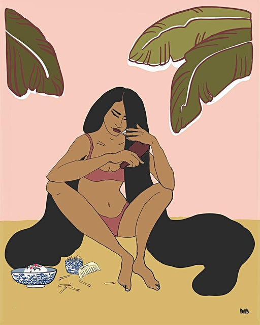 "Margaret Rice Studio ""Morning Rituals"" Print"