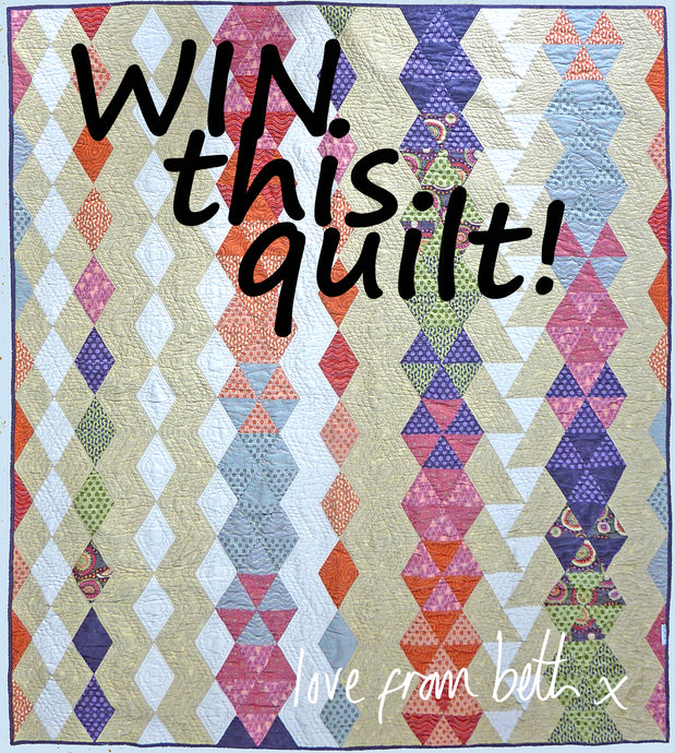 Win a Quilt - Prize Draw Raffle