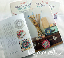 Load image into Gallery viewer, Mini Patchwork Projects Book