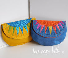 Load image into Gallery viewer, Sunburst Purse Sewing Pattern