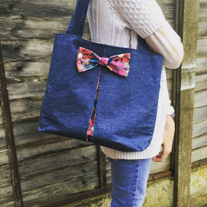 Easy Bow Bag Sewing Pattern