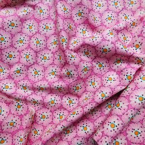 Quilting Cotton - Beth Studley 'Reef' Collection - Urchin (Pink)