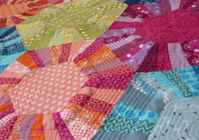 Load image into Gallery viewer, Hexa -scrappy Quilt Sewing Pattern
