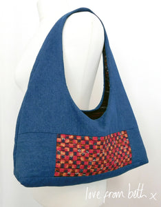 Woven Panel Bag Sewing Pattern