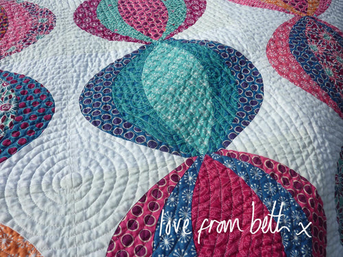Lanterns Quilt Sewing Pattern