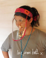 Load image into Gallery viewer, Headband Face Shield - Sewing Pattern