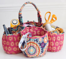 Load image into Gallery viewer, Honeycomb Basket Sewing Pattern