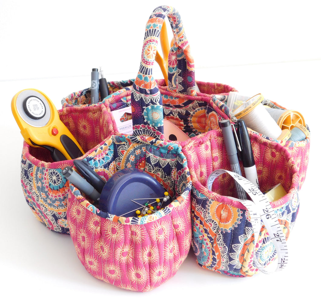Honeycomb Basket Sewing Pattern