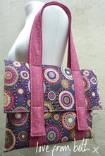 Load image into Gallery viewer, Quilted Satchel Sewing Pattern