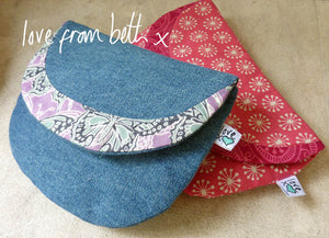 Crescent Purse Sewing Pattern