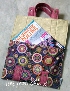 Quilted Satchel Sewing Pattern