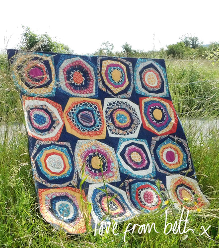 Stone Roses Quilt Sewing Pattern