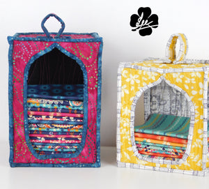 A Lovely Fat Quarter Storage Sewing Pattern
