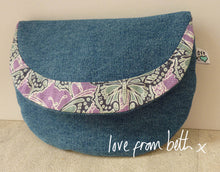 Load image into Gallery viewer, Crescent Purse Sewing Pattern