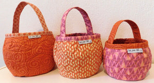 Pumpkin Bags Sewing Pattern