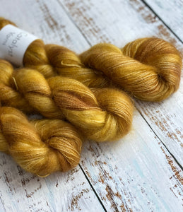 Toffee Crunch - Mohair/Silk Lace Weight