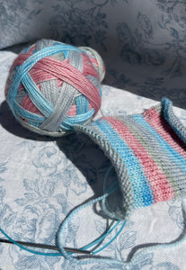 Bridgerton Inspired -Self Striping Sock Yarn