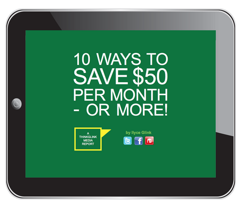 10 Ways to Save $50 per Month -- or More!