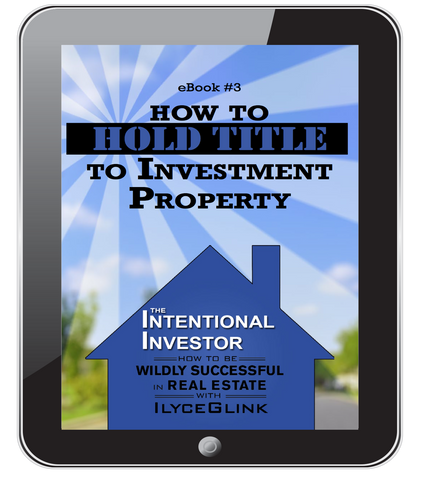 How to Hold Title to Investment Property