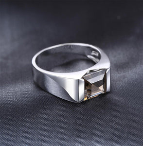 JewelryPalace Men Rings Square Luxry 2.2ct
