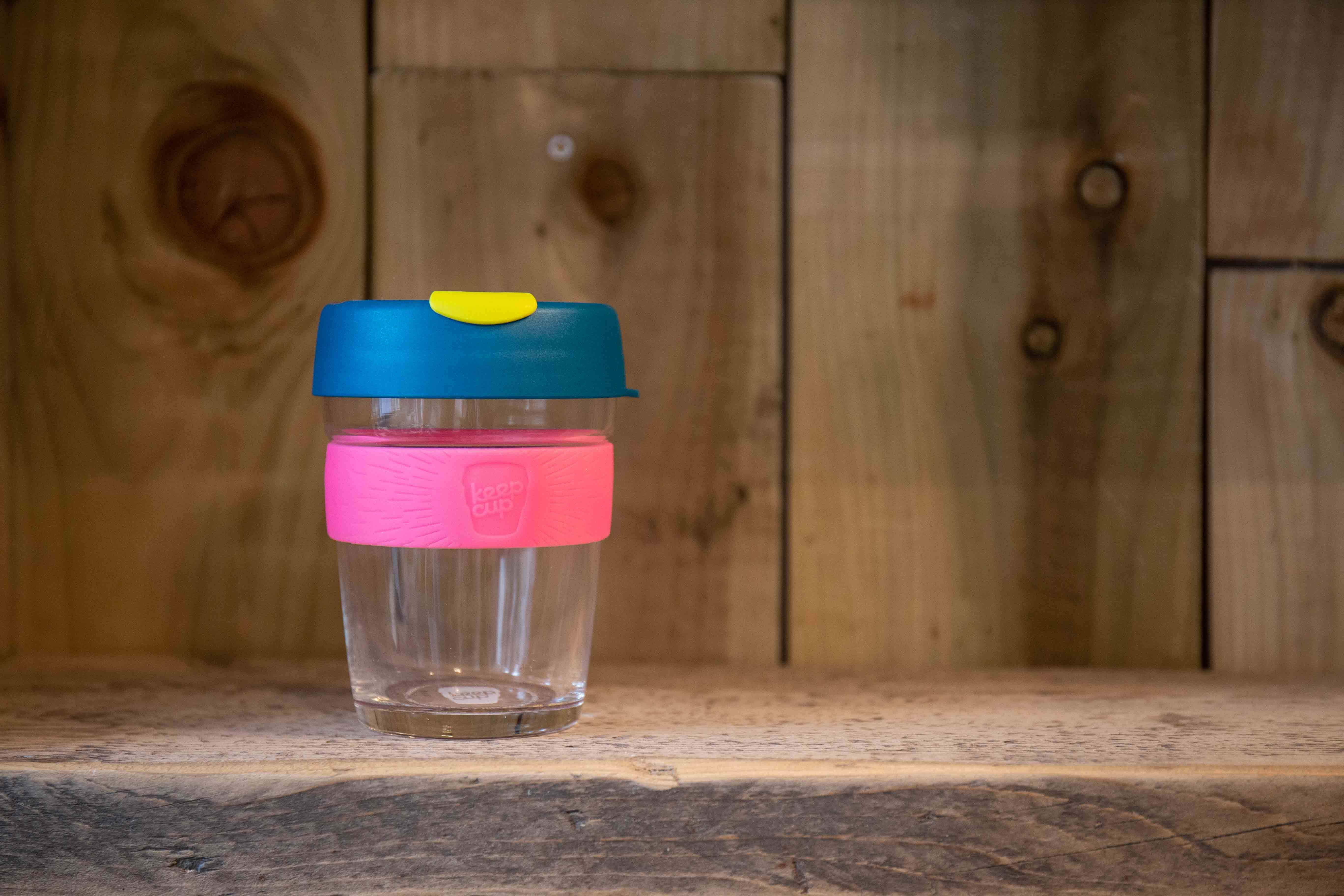 Brew Style KeepCup / 340ml / Pink, Blue & Green