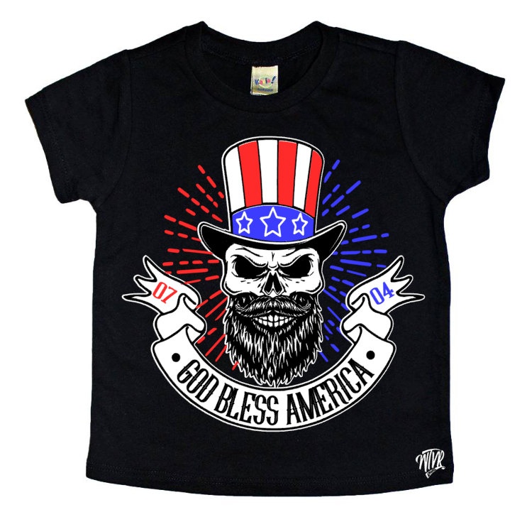 4th July God Bless America Shirt