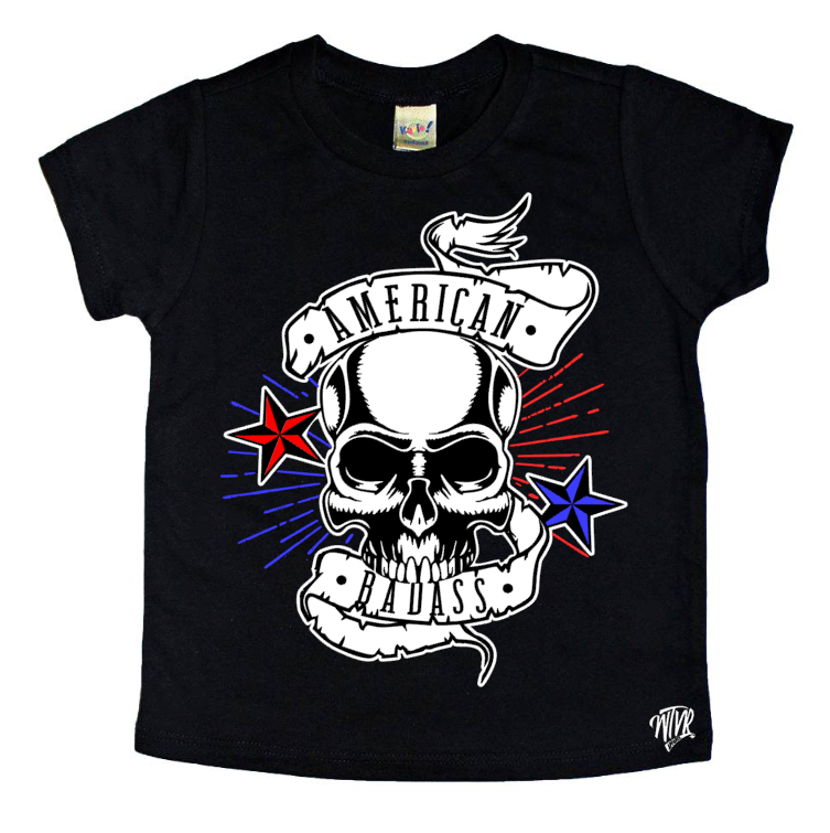 4th July American Badass Shirt