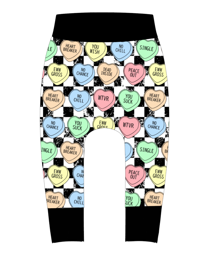 Anti Love Hearts Pants