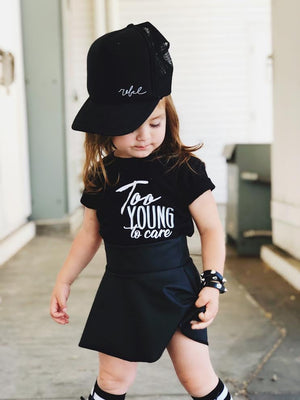 Too Young To Care Shirt