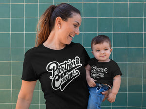 Mommy and Me Shirt Partners In Crime Set