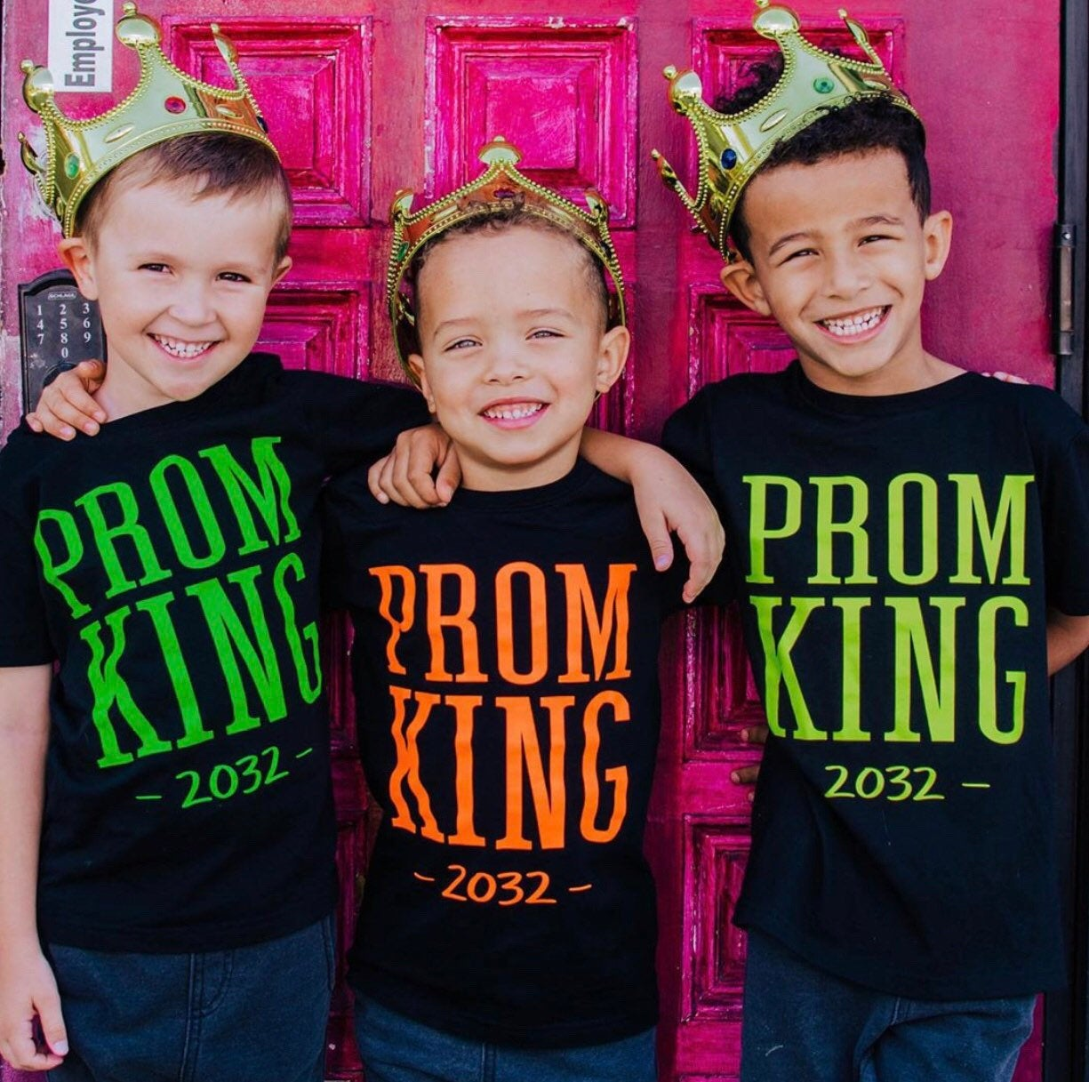 PROM KING (Custom Year)