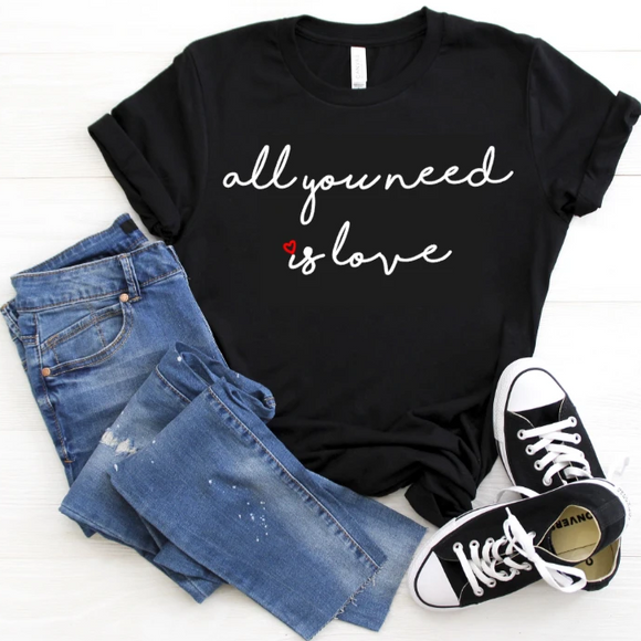 The Beatles - All you need is love ADULT Unisex shirt