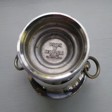 Load image into Gallery viewer, A set of 4 very small silver plated urns