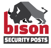 Bison Security Posts & Bollards