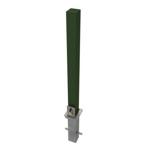 Heavy Duty Removable Security Post / Bollard 900mm high